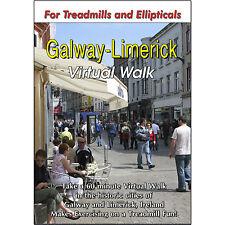 GALWAY-LIMERICK, IRELAND TREADMILL SCENERY DVD - WEIGHT LOSS FITNESS VIDEO