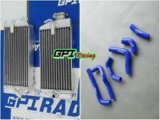 FOR Honda CRF450R CRF450 2002 2003 2004 Aluminum Radiator & Silicone hose