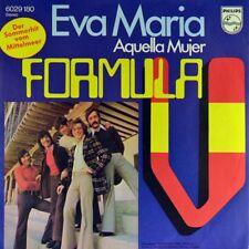 "7"" FORMULA V Eva Maria / Aquella mujer PHILIPS 45rpm Spanish Pop-Rock orig. 1973"