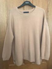M&S Pure Cashmere Jumper Size Medium Camel Colour