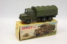 Dinky Toys France Militaire 1/43 - Berliet Gazelle Bâché 824 + Boite