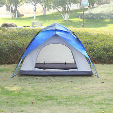 Outsunny Pop-Up Zelt für 3-4 Personen Campingzelt Kuppelzelt Polyester