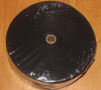 1 1/4 Inch BLACK Cotton Rug Binding Tape for Rug Hooking 10 YARDS.