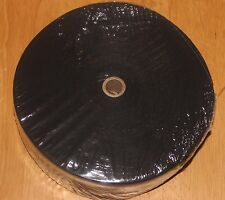 1 1/4 Inch BLACK Cotton Rug Binding Tape for Rug Hooking 10 Yards