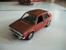 Mebetoys Volkswagen Golf 1 in Copper on 1:43