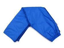 K-WAY Vintage Waterproof Rain Sailing Pants Camping Blue Full Zip Size 8