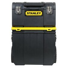 Stanley Detachable Tool Box Rolling Organizer 3-in-1 Portable Workshop Cart