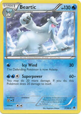 Beartic Rare Pokemon Card BW2 Emerging Powers 31/98