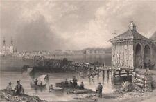 QUEBEC. St. John's, Richelieu River. Saint-Jean-sur-Richelieu. BARTLETT 1842