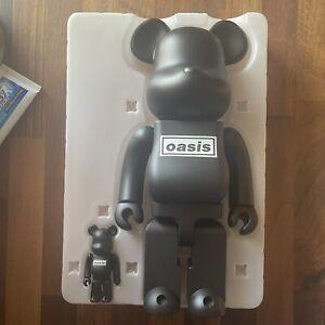 BE@RBRICK Oasis Black Rubber Coating 100% & 400% Set