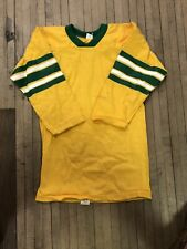 vintage russell athletic 3/4 Sleeve Football Jersey Size Boys Lage Rare Cotton