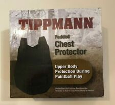 Tippmann Paintball Padded Chest Protector~Black~New In Box