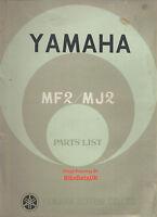 Yamaha 50 55 MF2 MJ2 (63-67) Genuine Parts List Catalogue Book Manual MF MJ BV03