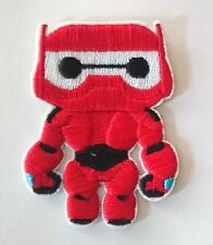 BIG HERO 6 CUTE BAYMAX waving hand Embroidered Iron On / Sew On Patch