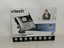 VTech CM18445 Main Console - DECT 6.0 4-Line Expandable Small Business Office Ph