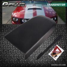 For 2005-2009 Ford Mustang GT V8 Racing Hood Scoop Vent Black