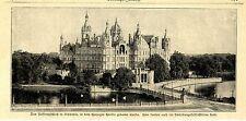 Das Residenzschloß in Schwerin in dem Herzogin Cecilie geboren wurde 1905