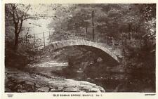 Old Roman Bridge Marple RP  old pc used 1918 Grenville