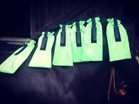 Set Of 6 Waterproof Mane Bags