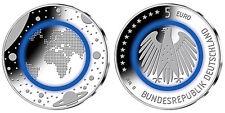 Deutschland 5 Euro Blauer Planet Erde - D - München (Polymer) 2016 bfr.