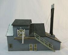 HO Scale Craftsman Boiler House - wood - built-up