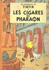 TINTIN - HERGE : LES CIGARES DU PHARAON - Edition originelle 1955