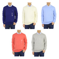 Polo Ralph Lauren Pullover Crew Cotton Cashmere Blend Sweater w/pony -- 5 colors