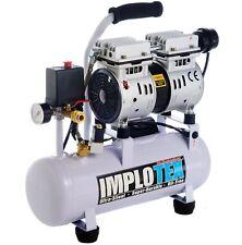 480W Flüster Silent Kompressor Druckluft nur 48dB leise ölfrei wartungsfrei