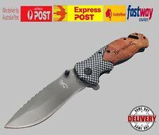 Browning Knife Folding Opening Pocket Knife Hunting Camping Survival Fishing EDC