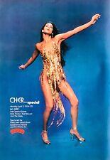 CHER 1978 original POSTER ADVERT SPECIAL Casablanca Records ABC