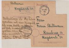 Not-/Behelfs-/Aufbrauchs-GA, P A 13, Hamburg 15.6. / 19.6.45