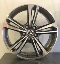 "Cerchi in lega Volkswagen Golf 5 6 7 Passat TIGUAN T ROC da 17"" Nuovi Offerta"