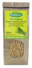 KS (19,50/kg) 2x Rapunzel BioSnacky Weizengras Keimsaat bio 200 g