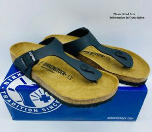 Birkenstock Women's Gizeh Regular Fit Slide Sandals -  BLACK