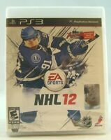 NHL 12 (Sony PlayStation 3, 2011) New sealed !
