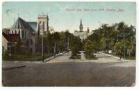 Capitol Ave. Omaha NE Nebraska Antique Postcard 1914