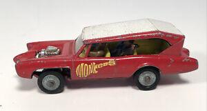 Vintage Husky Monkeemobile 1/64 Gt Britain 1968