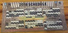 NEW YORK YANKEES TEAM OFFICIAL 2018 MAGNET CALENDAR SCHEDULE SGA 4/2/18 YANKEE