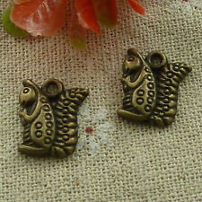 free ship 320 pcs Antique bronze squirrel charms 16x13mm #2566