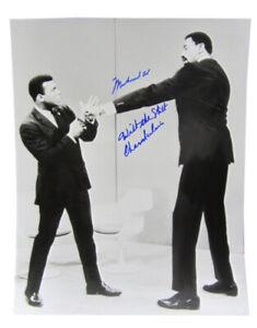 "MUHAMMAD ALI / WILT ""THE STILT"" CHAMBERLAIN Signed and Inscribed 16x20 PHOTO LOA"
