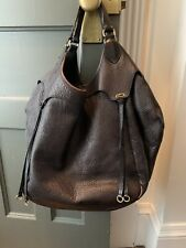 Givenchy Sacca Hobo Handbag Tote Brown Authentic