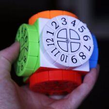 Time Machine Irregular Wheel Magic Cube Crazy Twist Puzzle Stickerless Ver.