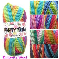 100g James C Brett Party Time Chunky Knitting Yarn -  Fun & Vibrant Colours