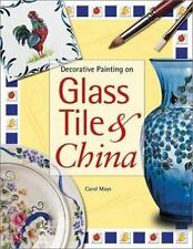 Decorative Painting on Glass Tile & China By Carol Mays Patterns And Ideas
