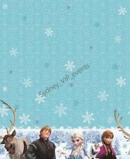 Disney Frozen Anna Elsa Party Plastic Tablecloths Disposable Table Cover Rect