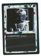 Doctor Who Black Border CCG Creature Card Cybermen Common Card Good Condition