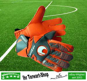 Torwarthandschuhe Uhlsport AERORED SOFT ADVANCED orange / grau / weiß - Neu !
