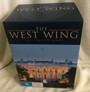 THE WEST WING SEASONS 1-7 : DVD VERY GOOD CONDITION - REGION 4