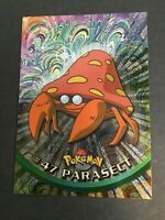 Pokemon - #47 PARASECT - Topps - Chrome - Foil - EXC