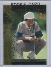 TIGER WOODS Upper Deck YOUNG KID ROOKIE CARD Golf RC Trading LE